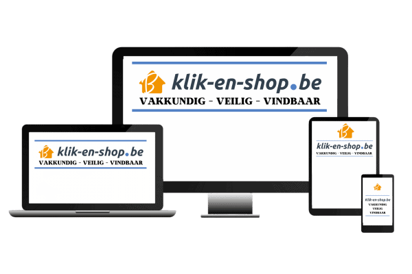 logo klik-en-shop be blauw transparant