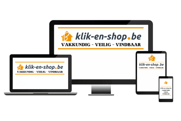 logo klik-en-shop be oranje transparant